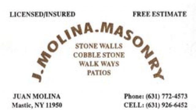 J Molina Masonry