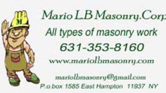 Mario L. B. Masonry Corp