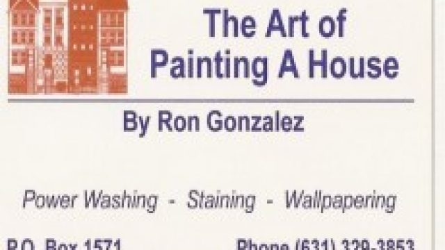 The Art Of Painting a House
