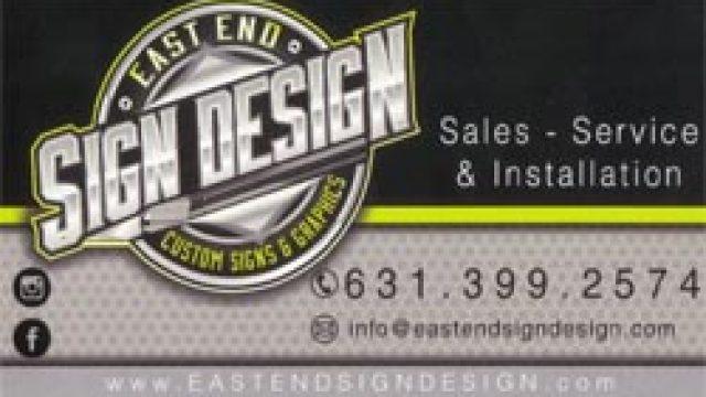 East End Sign Design